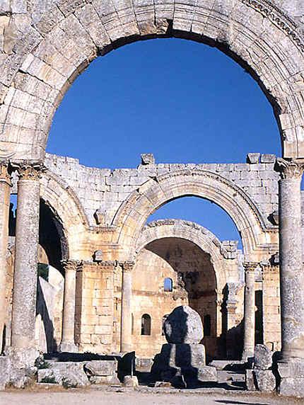 La cour du monastère de saint Siméon