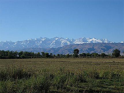 Steppe et montagnes