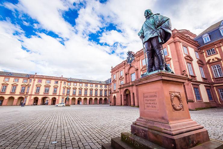 Route allemande des châteaux forts : de Mannheim à la frontière tchèque