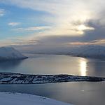 Vue du sommet du Rundfjell