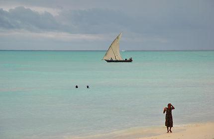Jeune fille de Zanzibar