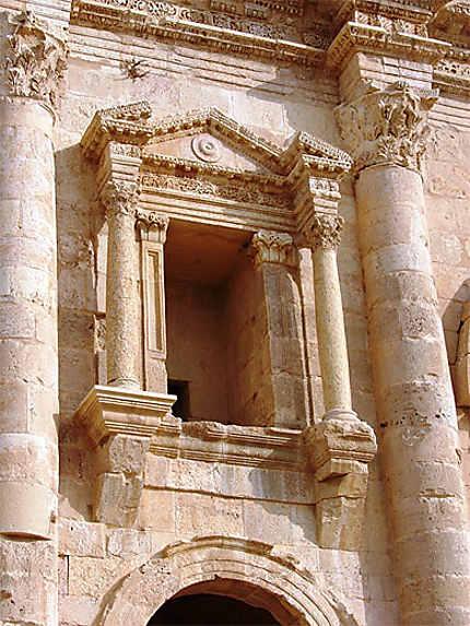 Arc d'Hadrien, détail 1