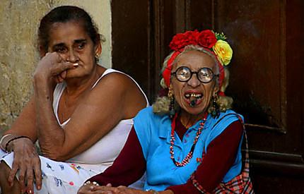 La dame au cigare