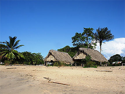 La plage d'Awala Yalimapo