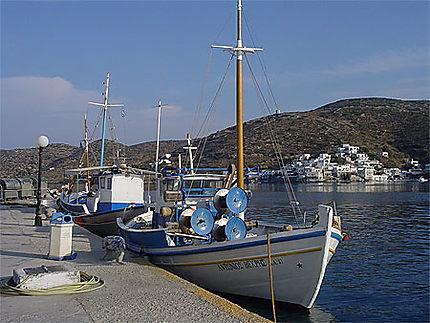 Bateaux à Katapola