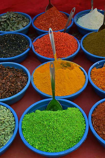Les épices indiennes, magnifique découverte