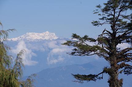 Vue des hauts sommets du Col de la Dachu