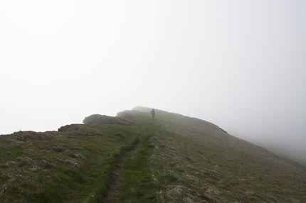 Falaises de Làtrabjarg dans la brume