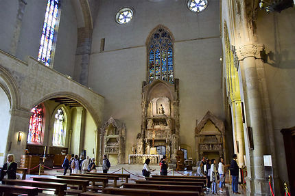 L'église de Santa Chiara, Naples