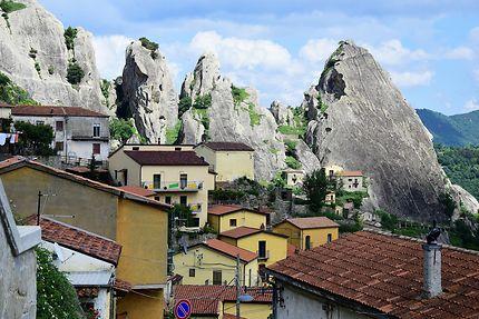 Le village de Castelmezzano