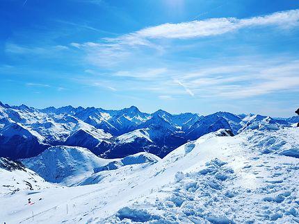 Au Pic blanc à 3330 m