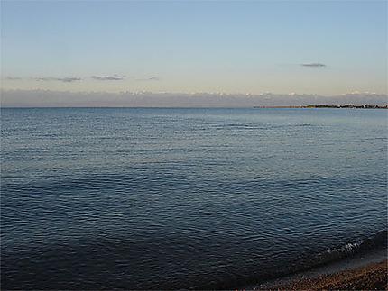 Aube sur le lac