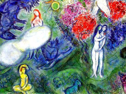 Le Paradis, de Chagall