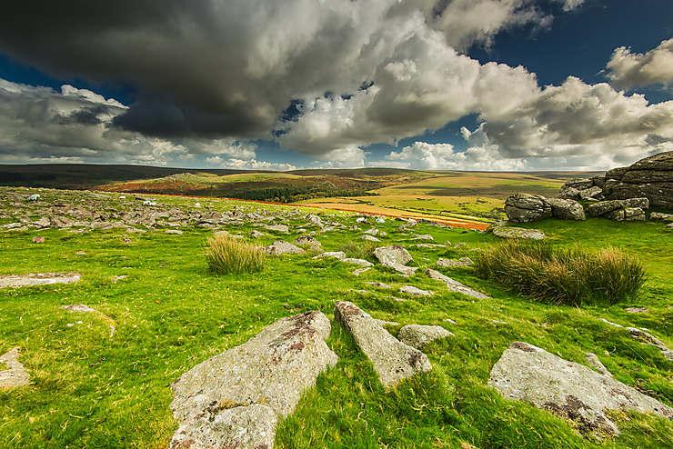 Lande de Dartmoor (Angleterre)