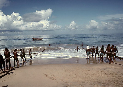 Pêcheurs à Sri Lanka