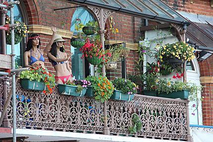 terrasse originale insolite ramsgate kent angleterre. Black Bedroom Furniture Sets. Home Design Ideas