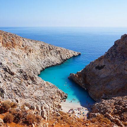 Plage de Seitan Limania, Crète