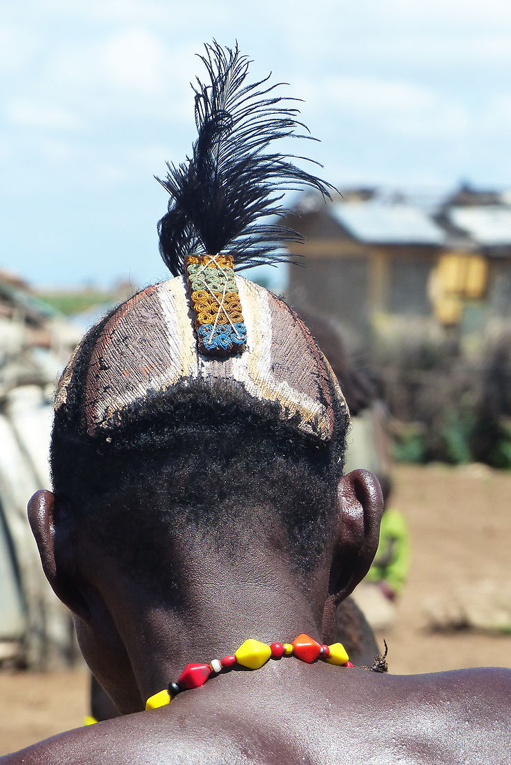 Coiffure Hamer, Éthiopie