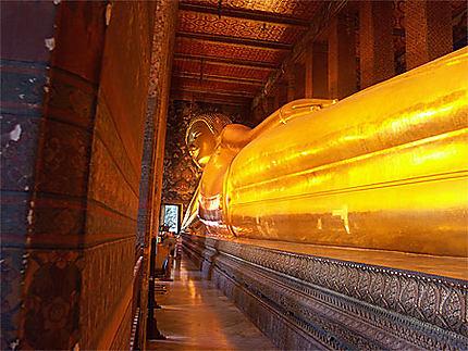 Temple Wat Po - le Bouddha couché