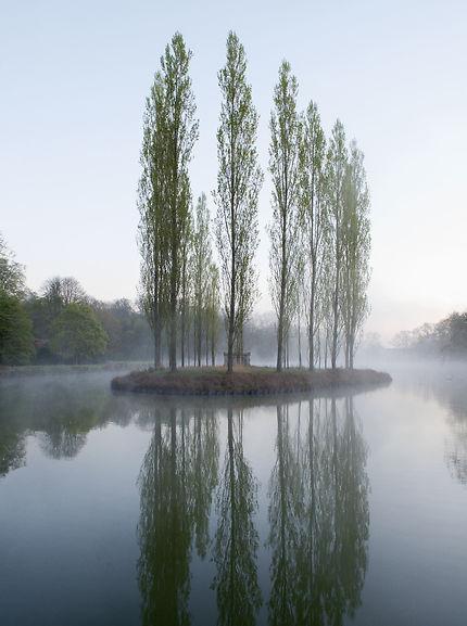 Île des Peupliers, Parc Jean-Jacques Rousseau
