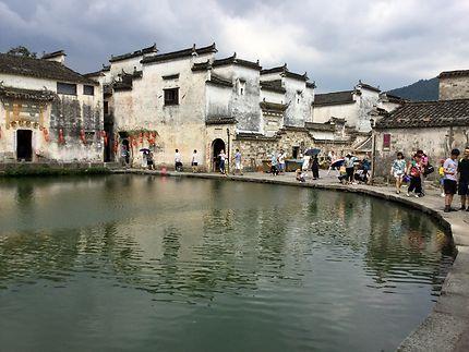 Le village de Hongcun, Chine
