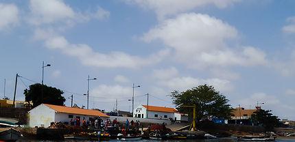 Arrivée des pêcheurs à l'Île de Sal