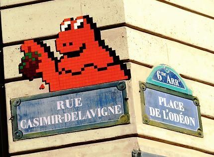 Art street (Invaders)