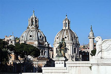 Rome et ses dômes