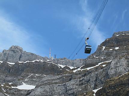 Télépherique du Säntis (2502 m)