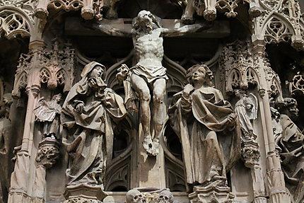 Crucifixion de la chaire