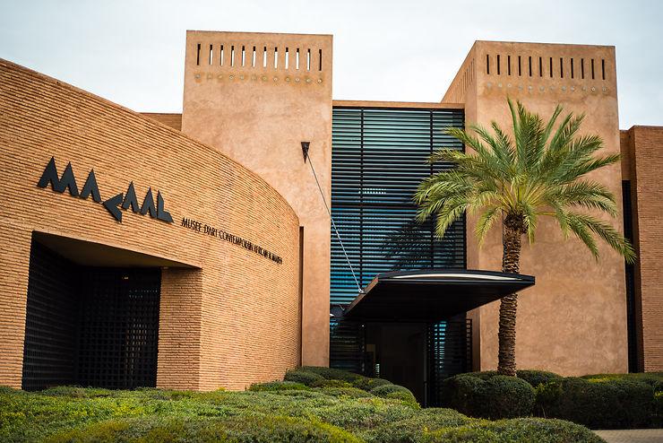 Musée d'Art Africain Al Madeen (Macaal) à Marrakech