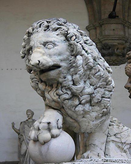 Le Marzocco symbole de Florence