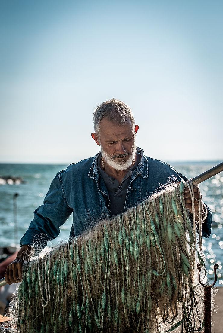 Pêche en bateau sur le lac Léman