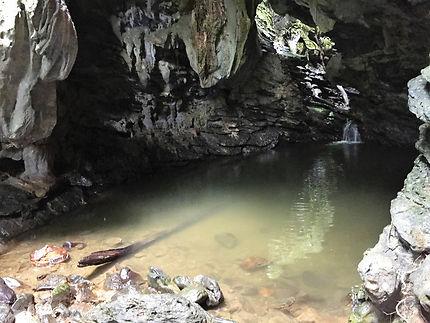 La grotte de Batata à Cuba