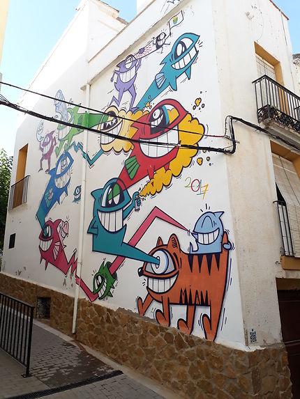 Art urbain à Fanzara
