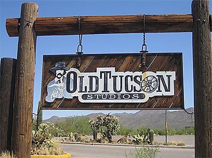 Old Tucson studios-entrée