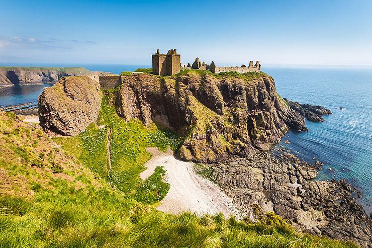 Sur la route des châteaux d'Écosse