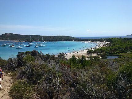 La sublime plage de Rondinara