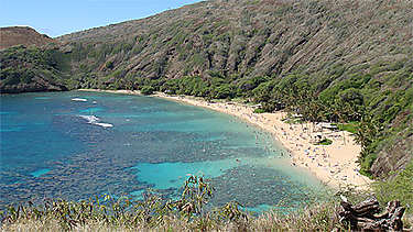 Hanauma Bay (île d'Oahu)