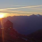 Lever de soleil Erlangerhütte