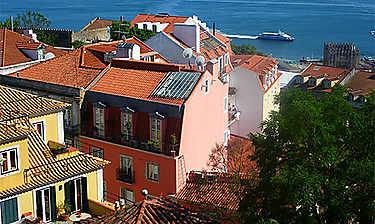 Alfama et bairro do castelo São Jorge