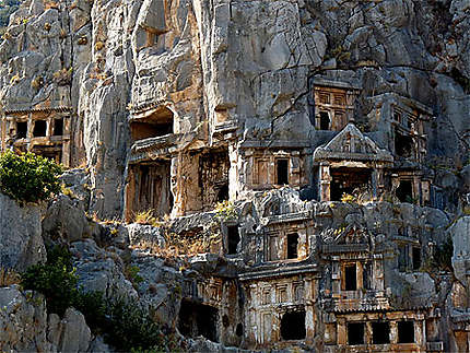 Les maisons des morts