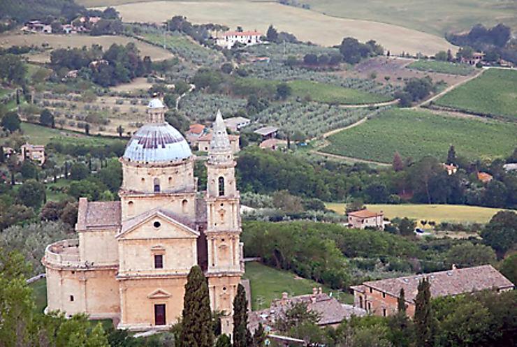 Monter et descendre à Montepulciano