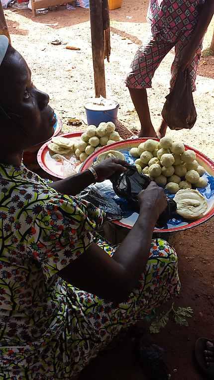 Beurre de Karité sur le marché