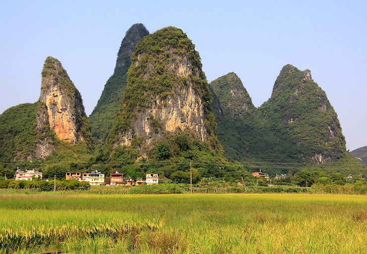 Yangshuo, entre pics et rizières, Chine