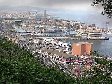 Barcelone portuaire