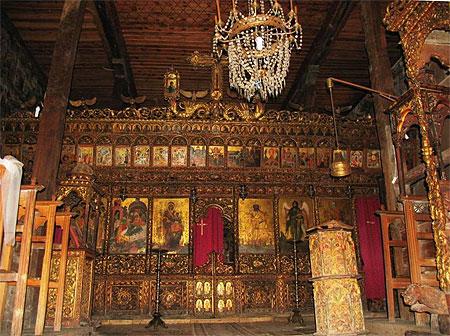 Int 233 Rieur Chapelle Orthodoxe Eglise Fier Sud De L
