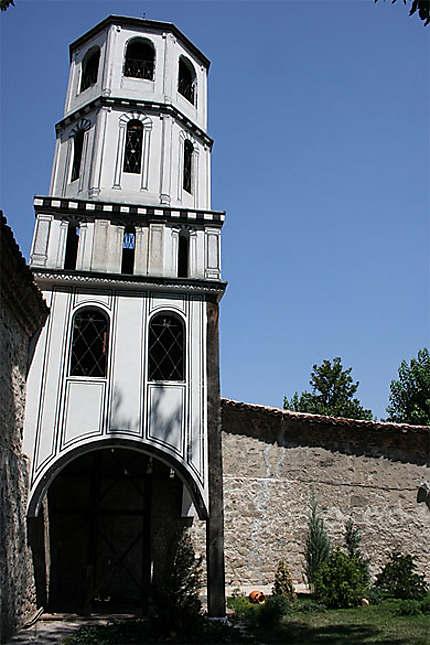 Clocher de l'église Saint-Constantin-et-Sainte-Hélène