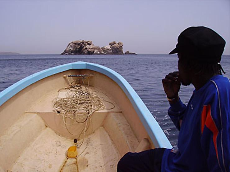 Trois îles au large de Dakar
