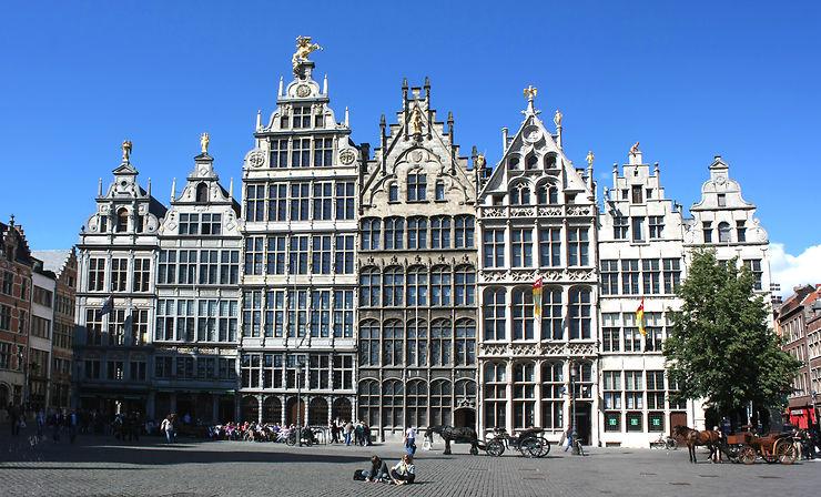 Grand-Place, Anvers - Belgique